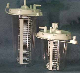 Suction Canisters/disposable Collection Unit, Stem