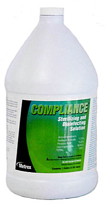 Compliance Hgh Level Disinfect Sterilant