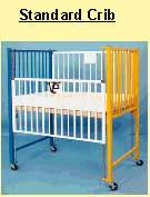 Infant Cribs, Plexiglass End